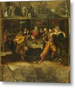 Parable Of The Prodigal Son Metal Print