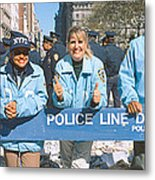 Parade For 1998 World Series Champions Metal Print