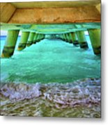 Paradise In Grand Turk Never Ends Metal Print