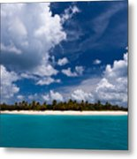 Paradise Is Sandy Cay Metal Print