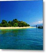 Paradise Island Haiti Metal Print