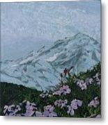 Paradise Mount Rainier Metal Print