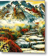 Paradise Mountain Metal Print