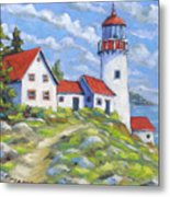 Paradise On The Point Metal Print