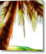 Paradise Palm Metal Print
