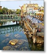 Paradise Pier At California Adventure Metal Print