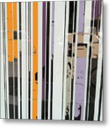 Parallel Lines Metal Print