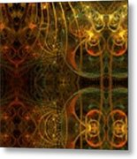 Parallel Visions Of Time   Metal Print