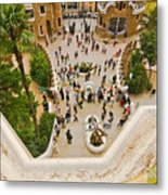 Parc Guell In Barcelona Metal Print