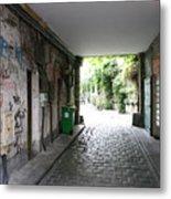 Paris - Alley 2 Metal Print