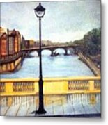 Paris After The Rain Metal Print