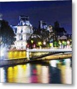 Paris At Night 22 Metal Print