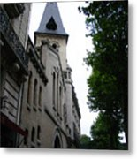 Paris Church 2 Metal Print