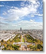 Paris City View 20 B Metal Print