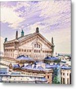 Paris City View 22 Art Metal Print