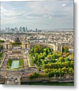 Paris City View 27 Metal Print