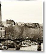 Paris Days Metal Print