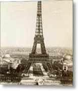 Paris: Eiffel Tower, 1900 Metal Print