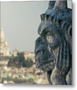Gargoyle Of Paris Metal Print
