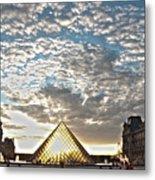 Paris Louvre Metal Print