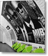 Paris Metro 4 Metal Print