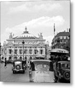 Paris Opera 1935 Metal Print
