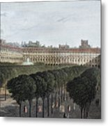 Paris: Palais Royal, 1821 Metal Print