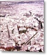 Paris Panorama 1955  Metal Print