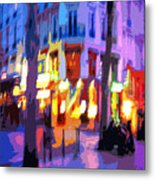 Paris Quartier Latin 02 Metal Print