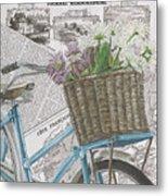 Paris Ride 1 Metal Print