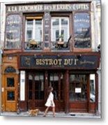 Paris Street Life 2 Metal Print