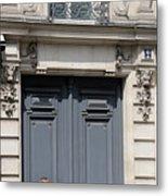 Paris Street Life 3 Metal Print