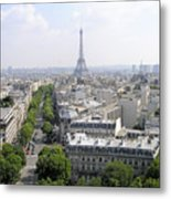 Paris01 Metal Print