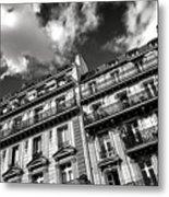 Parisian Buildings Metal Print