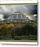 Parisian Spaceship Metal Print