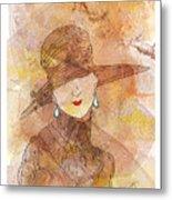 Parisienne 1930 Metal Print