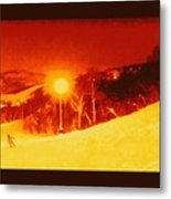 Park City Gold Metal Print