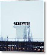 Parkade - Downtown Spokane Metal Print