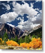 Parker Canyon Fall Colors California's High Sierra Metal Print by Bill Wight CA