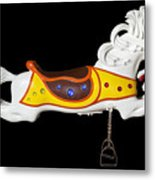 Parker Flying Carousel Horse 2 Metal Print