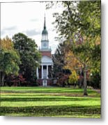 Parker Hall - Hanover College Metal Print