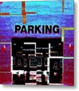 Parking Metal Print