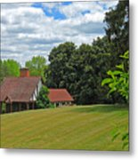 Parkland Cottage Metal Print