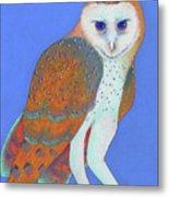 Parliament Of Owls Detail 1 Metal Print