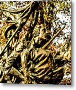 Part Of The North Carolina Monument Metal Print