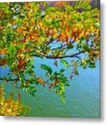 Parted By The Wind Metal Print