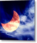 Partial Eclipse Metal Print