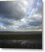 Parting Clouds Metal Print