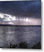 Parting Skies Over Union Reservoir Metal Print