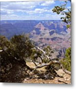 Partly Cloudy - Grand Canyon Metal Print